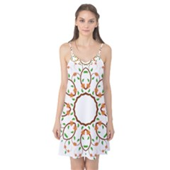 Frame Floral Tree Flower Leaf Star Circle Camis Nightgown