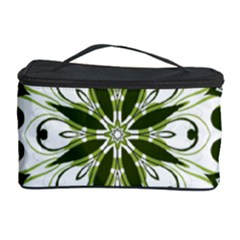 Frame Flourish Flower Green Star Cosmetic Storage Case