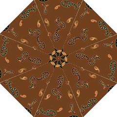 Brown Forms Hook Handle Umbrellas (Large)