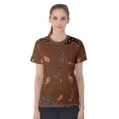 Brown Forms Women s Cotton Tee