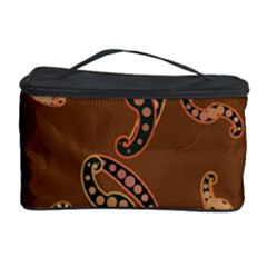 Brown Forms Cosmetic Storage Case