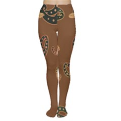 Brown Forms Women s Tights
