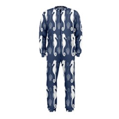 Seahorse And Shell Pattern OnePiece Jumpsuit (Kids)