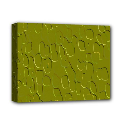 Olive Bubble Wallpaper Background Deluxe Canvas 14  X 11