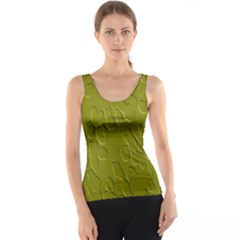 Olive Bubble Wallpaper Background Tank Top