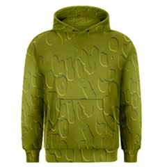 Olive Bubble Wallpaper Background Men s Pullover Hoodie