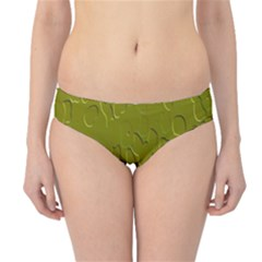 Olive Bubble Wallpaper Background Hipster Bikini Bottoms