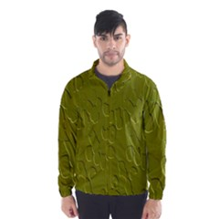 Olive Bubble Wallpaper Background Wind Breaker (men)