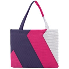 Pink Pattern Mini Tote Bag