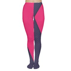 Pink Pattern Women s Tights