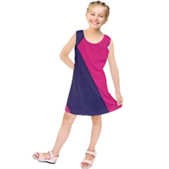 Pink Pattern Kids  Tunic Dress