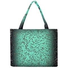 Grunge Rain Frame Mini Tote Bag