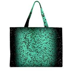 Grunge Rain Frame Zipper Mini Tote Bag