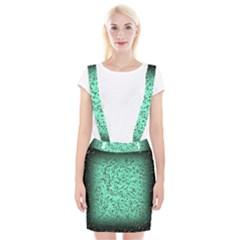 Grunge Rain Frame Suspender Skirt