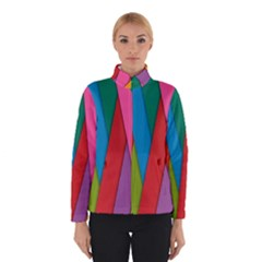 Colorful Lines Pattern Winterwear