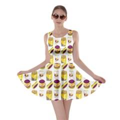 Hamburger And Fries Skater Dress