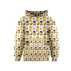 Hamburger And Fries Kids  Pullover Hoodie