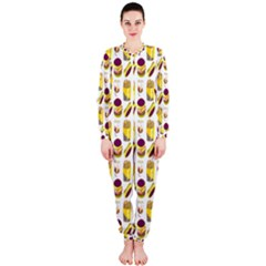 Hamburger And Fries OnePiece Jumpsuit (Ladies)