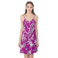 Floral Pattern Background Camis Nightgown