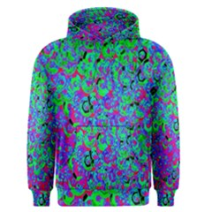 Green Purple Pink Background Men s Pullover Hoodie