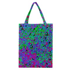 Green Purple Pink Background Classic Tote Bag