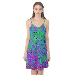 Green Purple Pink Background Camis Nightgown