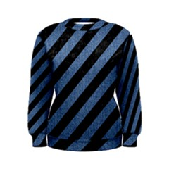 STR3 BK-MRBL BL-DENM Women s Sweatshirt
