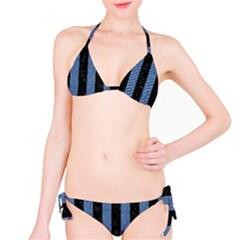 STR1 BK-MRBL BL-DENM Bikini Set