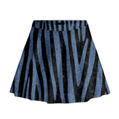 SKN4 BK-MRBL BL-DENM (R) Mini Flare Skirt
