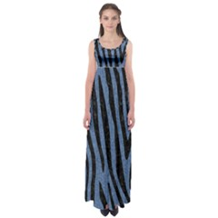 SKN4 BK-MRBL BL-DENM Empire Waist Maxi Dress