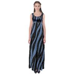 SKN3 BK-MRBL BL-DENM Empire Waist Maxi Dress