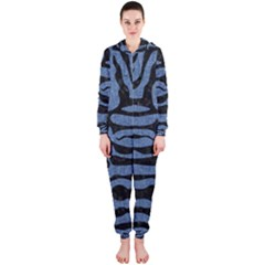 SKN2 BK-MRBL BL-DENM (R) Hooded Jumpsuit (Ladies)