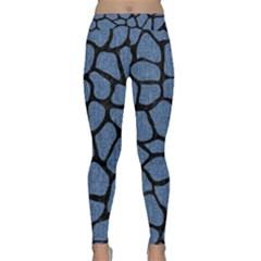 SKN1 BK-MRBL BL-DENM Classic Yoga Leggings