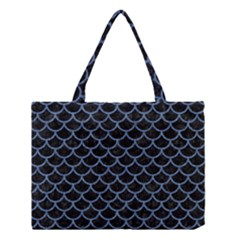 SCA1 BK-MRBL BL-DENM Medium Tote Bag
