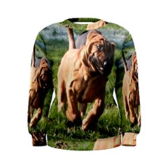 Bloodhound Running Women s Sweatshirt
