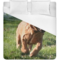 Bloodhound Running Duvet Cover (King Size)