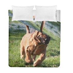 Bloodhound Running Duvet Cover Double Side (Full/ Double Size)
