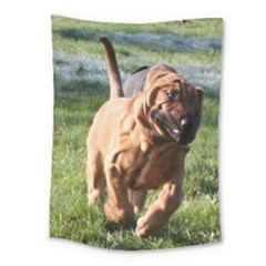 Bloodhound Running Medium Tapestry