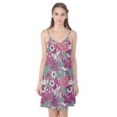 Seamless Floral Pattern Background Camis Nightgown