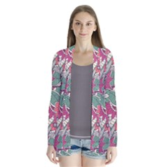 Seamless Floral Pattern Background Cardigans