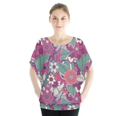 Seamless Floral Pattern Background Blouse