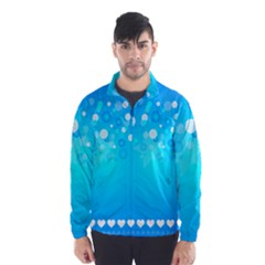 Blue Dot Star Wind Breaker (Men)