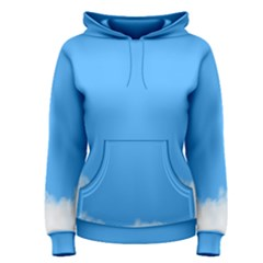 Blue Sky Clouds Day Women s Pullover Hoodie