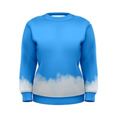 Blue Sky Clouds Day Women s Sweatshirt