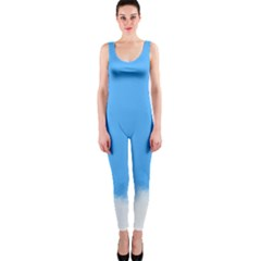 Blue Sky Clouds Day OnePiece Catsuit