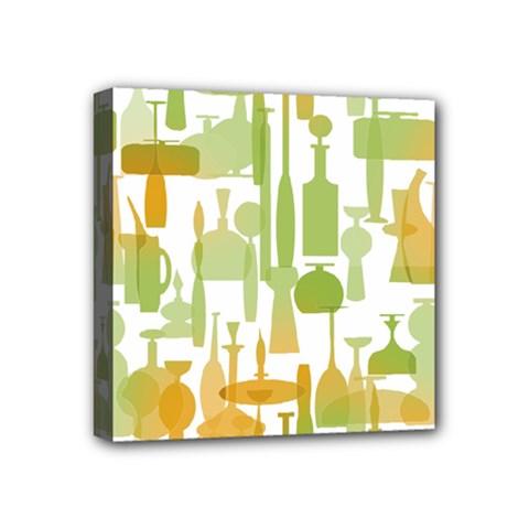 Angerine Blenko Glass Mini Canvas 4  X 4