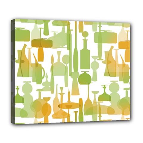 Angerine Blenko Glass Deluxe Canvas 24  x 20