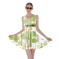 Angerine Blenko Glass Skater Dress