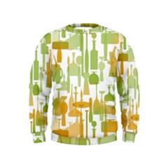 Angerine Blenko Glass Kids  Sweatshirt