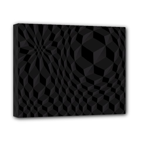 Pattern Dark Texture Background Canvas 10  X 8